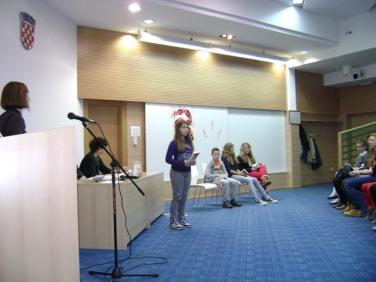 Nastup Natali Špoljarić na županijskom natjecanju