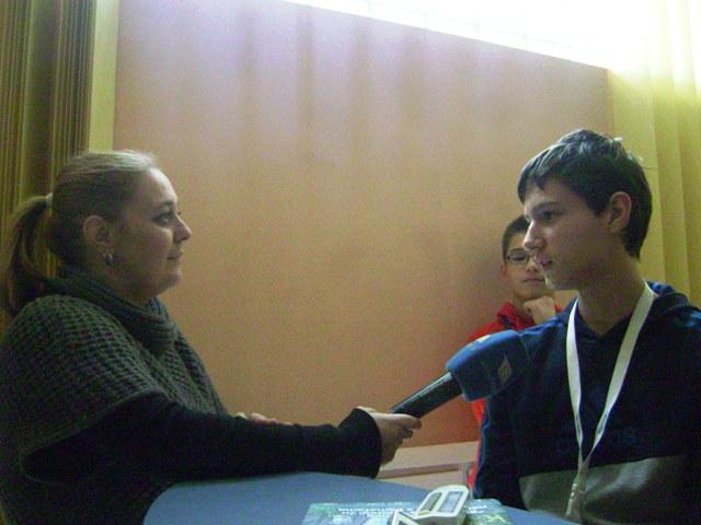Novinarka Tamara u razgovoru s Alenom Livojevićem