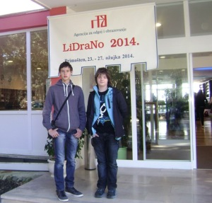 Alen Livojević i Borna Žaja predstavljali su Karlovačku županiju
