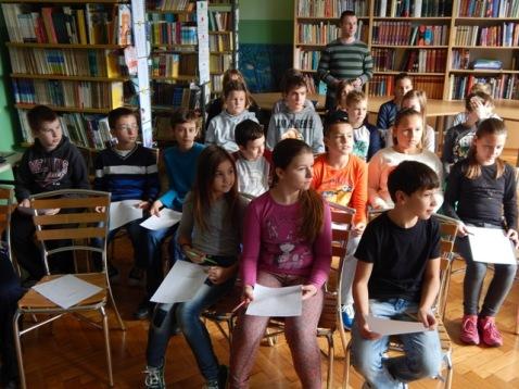 Učenici 5. a i razrednik Domagoj Šlat